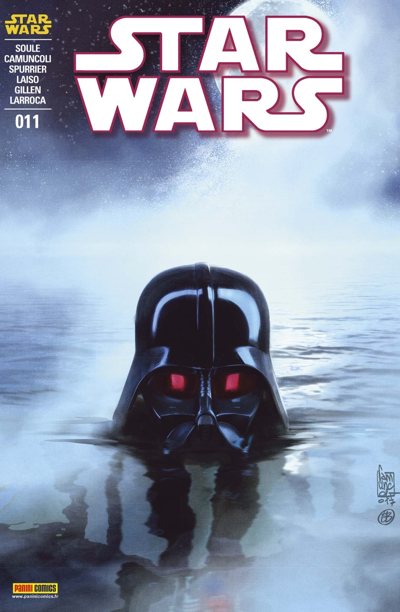 STAR WARS N 11 (COUVERTURE 1/2)
