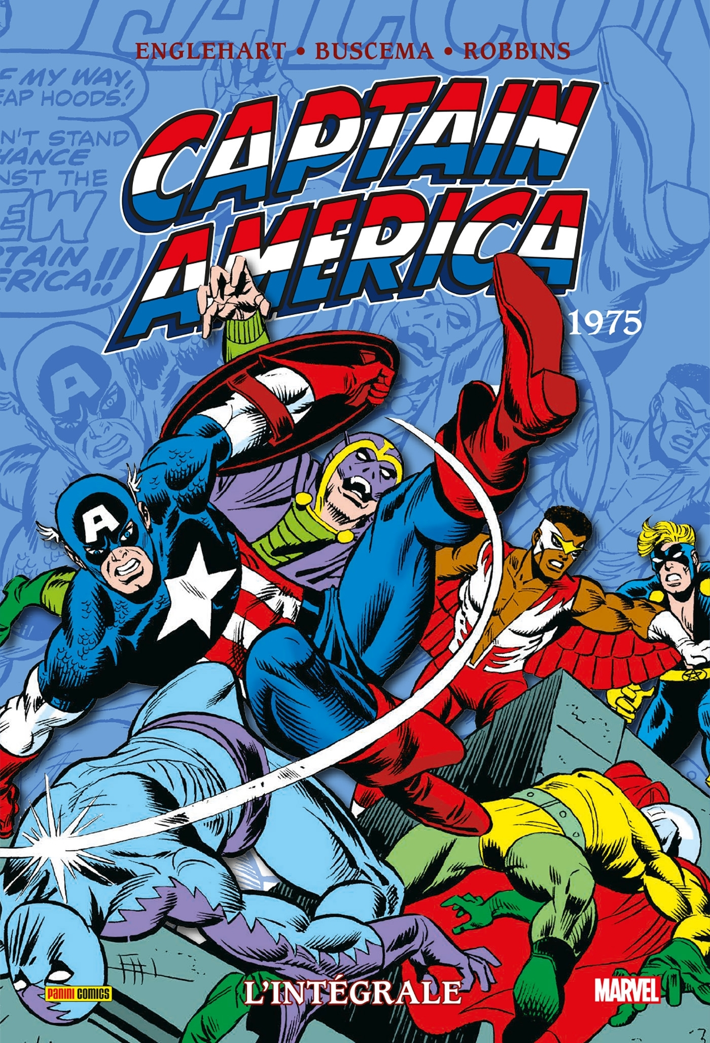 CAPTAIN AMERICA : L'INTEGRALE T09 (1975)