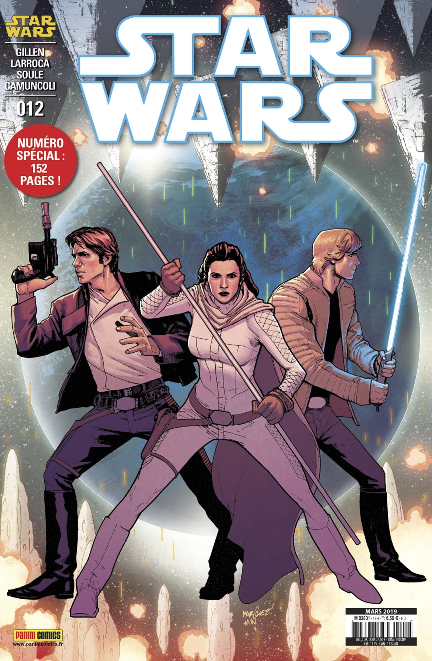 STAR WARS N 12 (COUVERTURE 1/2)