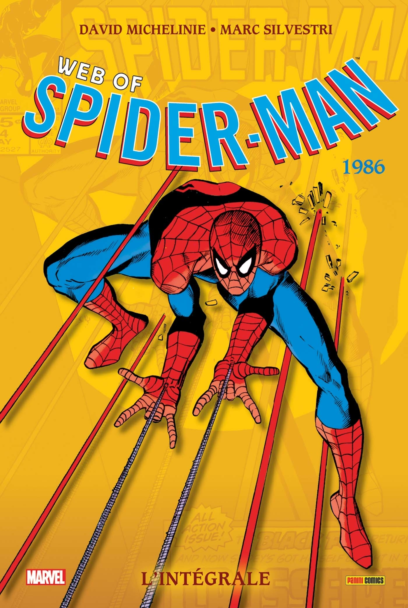 WEB OF SPIDER-MAN : L'INTEGRALE T43 (1986)
