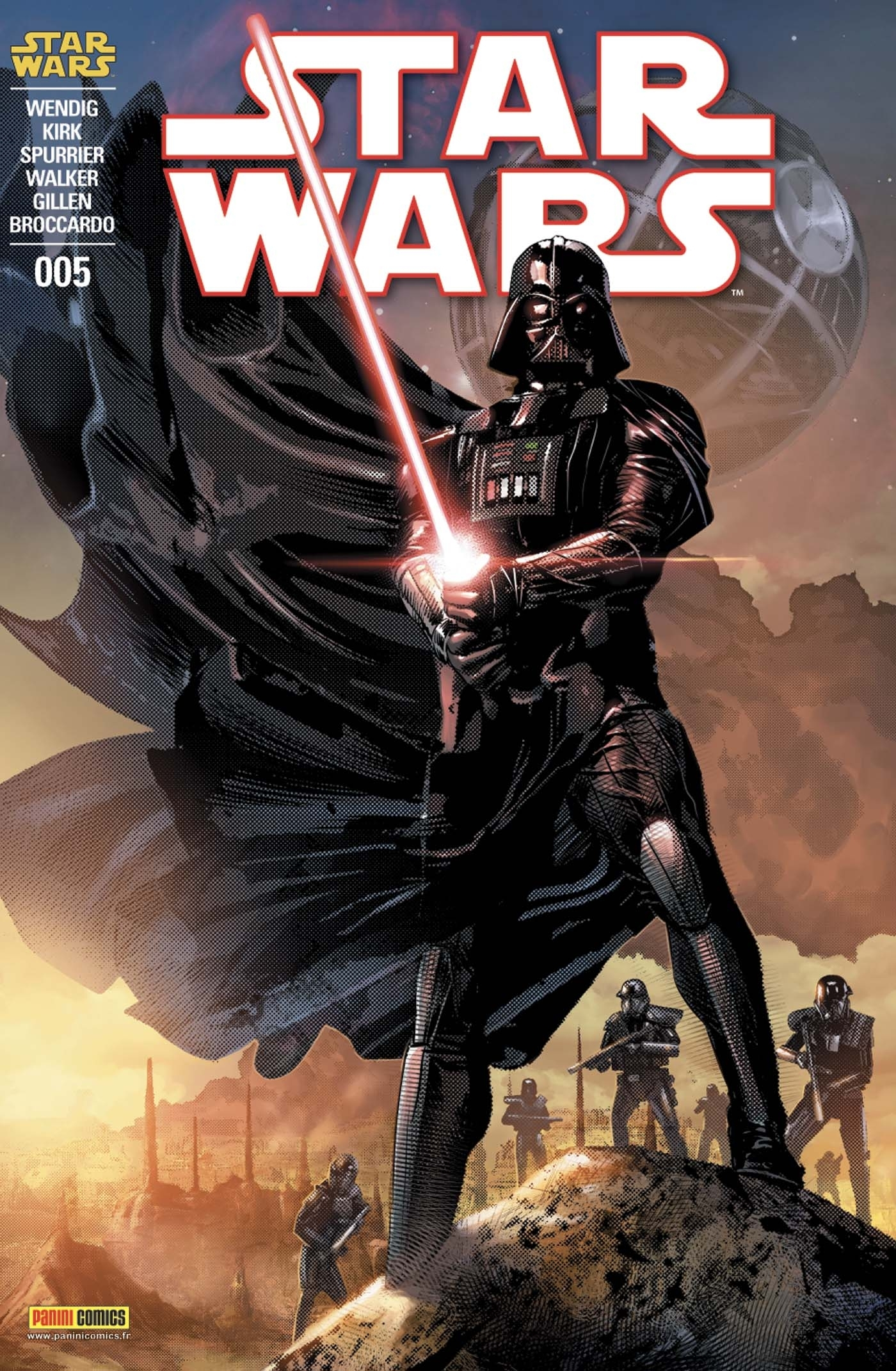STAR WARS N 5 (COUVERTURE 1/2)