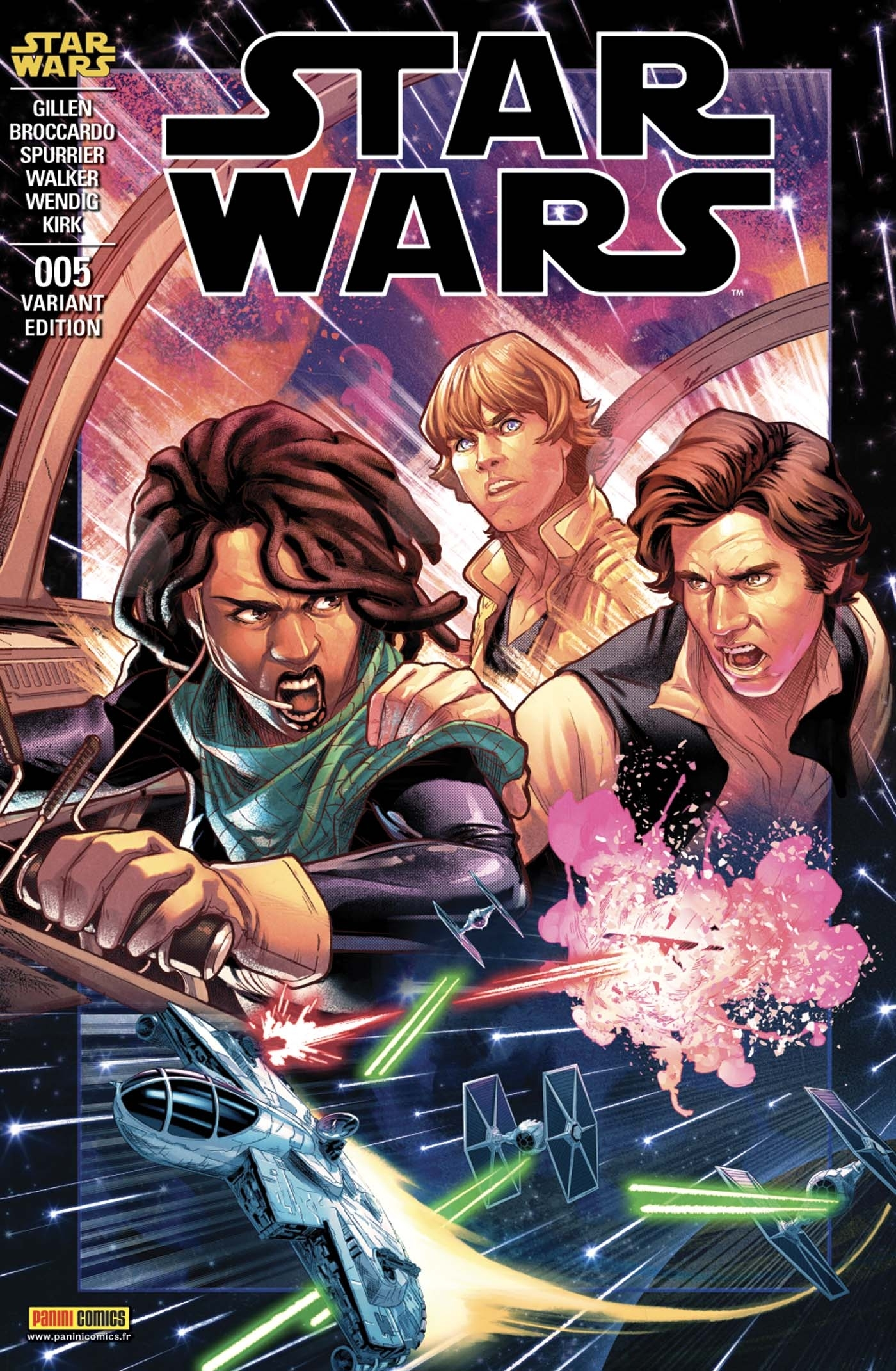 STAR WARS N 5 (COUVERTURE 2/2)