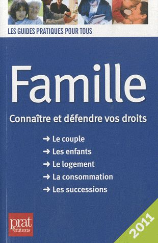 FAMILLE CONNAITRE ET DEFENDRE VOS DROITS 2011