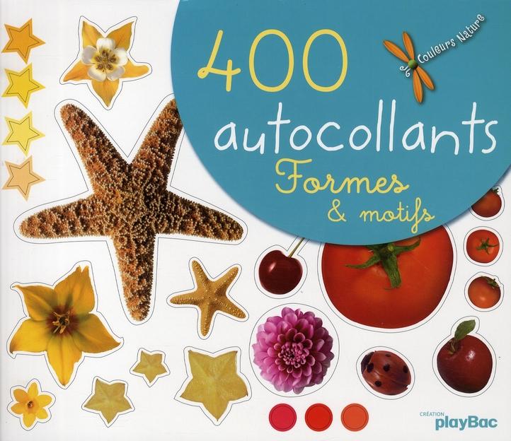400 AUTOCOLLANTS DE FORMES ET MOTIFS