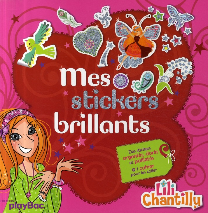 MES 500 AUTOCOLLANTS BRILLANTS LILI CHANTILLY