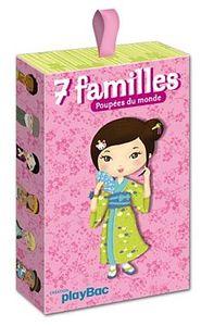 JEU DE 7 FAMILLES POUPEES DU MONDE