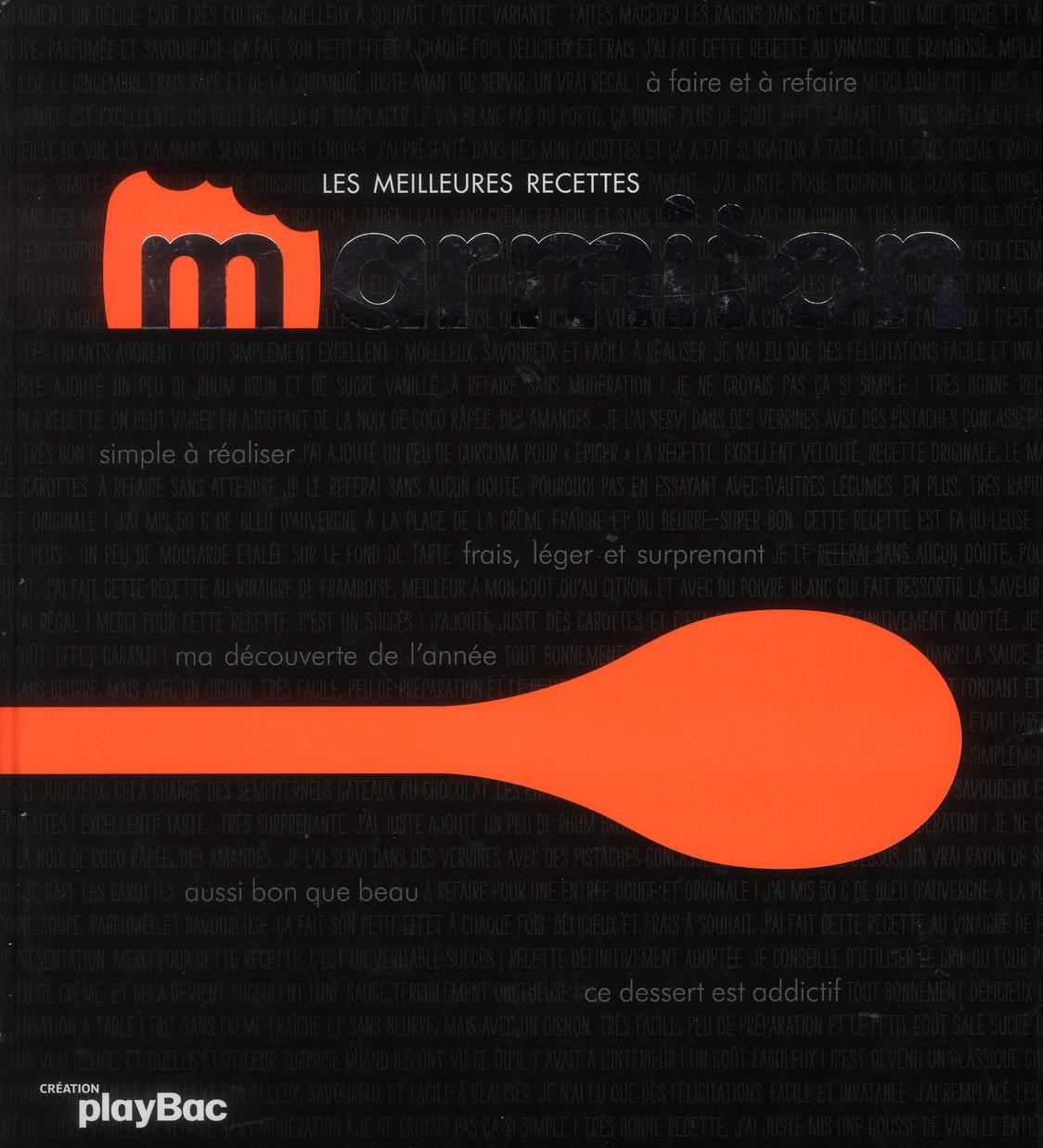 LES MEILLEURES RECETTES MARMITON