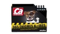 CALENDRIER - CA M'INTERESSE, 365 ENIGMES NOIRES