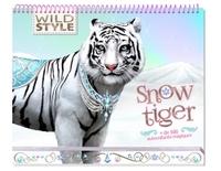 WILD STYLE - CARNET CREATIF - SNOW TIGER