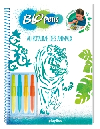 BLOPENS - MON CAHIER CREATIF - AU ROYAUME DES ANIMAUX