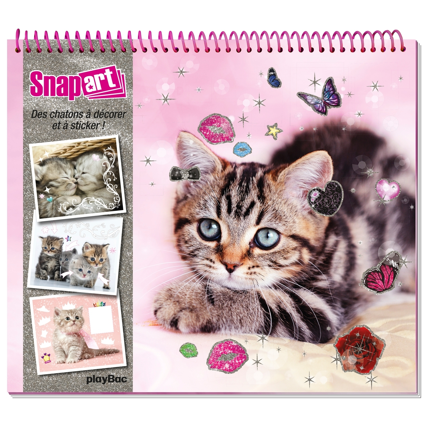 SNAP'ART - CHATONS - DECORE ET STICKE TES CHATONS