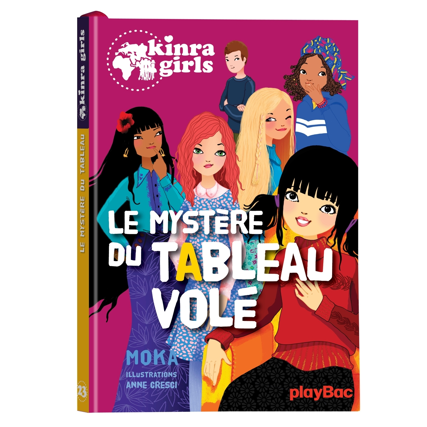 KINRA GIRLS - LE MYSTERE DU TABLEAU VOLE - TOME 23