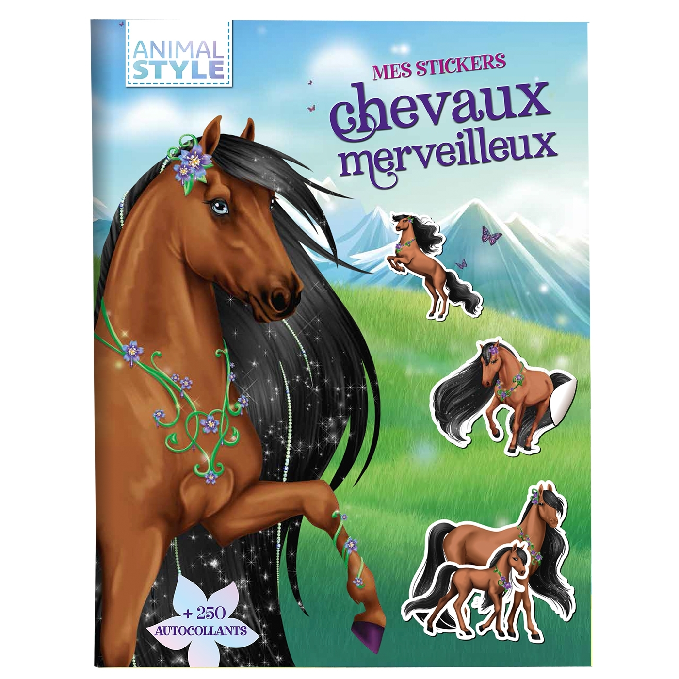ANIMAL STYLE - MES STICKERS CHEVAUX MERVEILLEUX