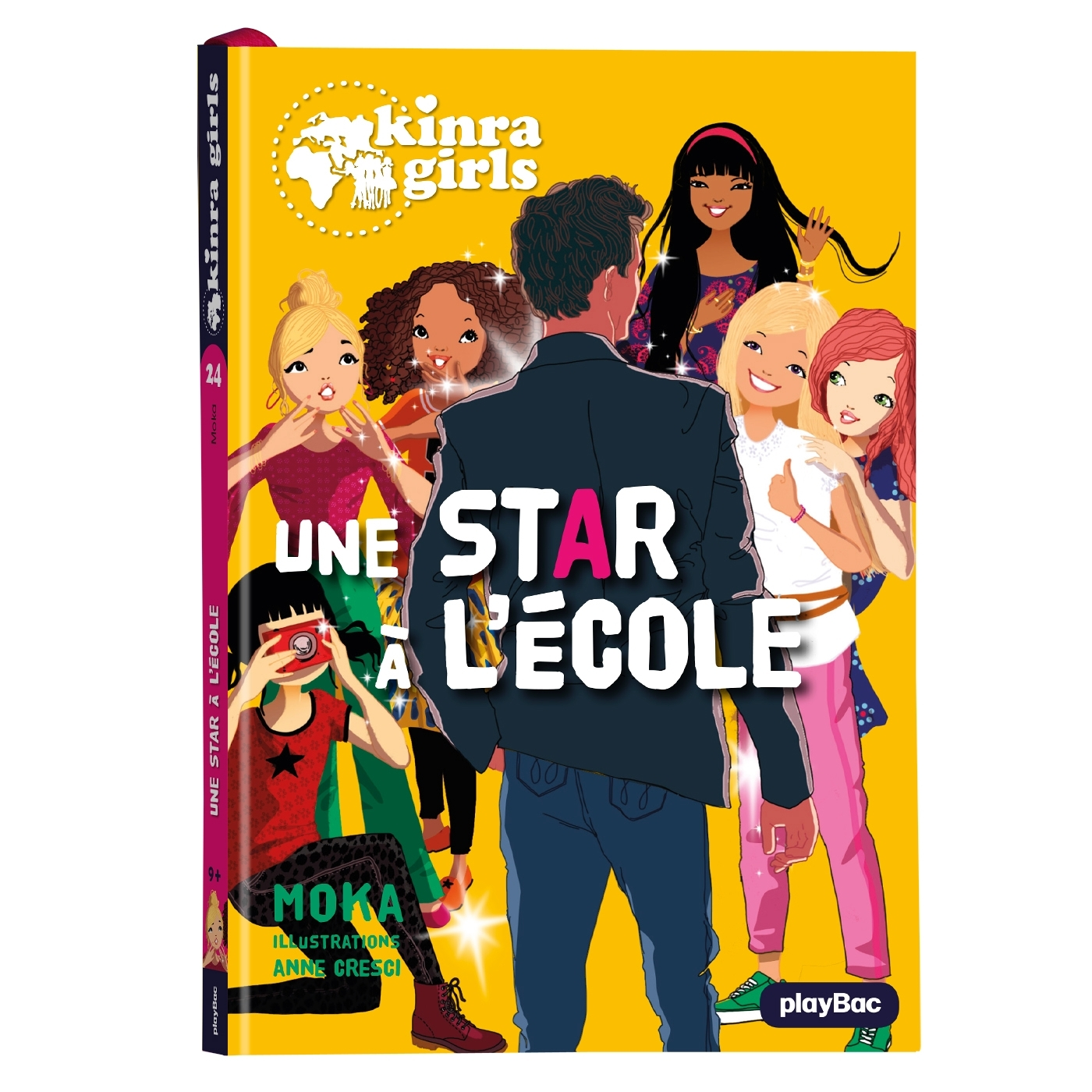 KINRA GIRLS - UNE STAR A L'ECOLE - TOME 24