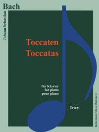PARTITION - BACH - TOCCATAS - POUR PIANO