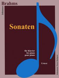 PARTITION - BRAHMS - SONATES - POUR PIANO