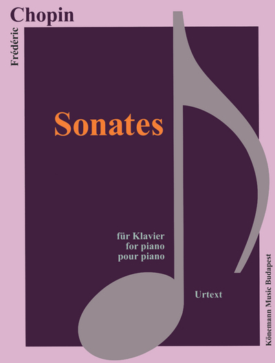 PARTITION - CHOPIN - SONATES - POUR PIANO