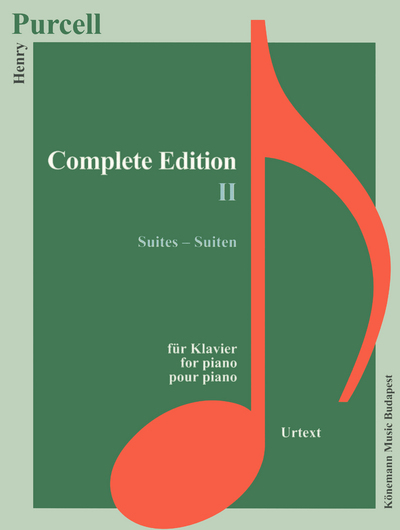 PARTITION - PURCELL - EDITION COMPLETES II - SUITES - POUR PIANO