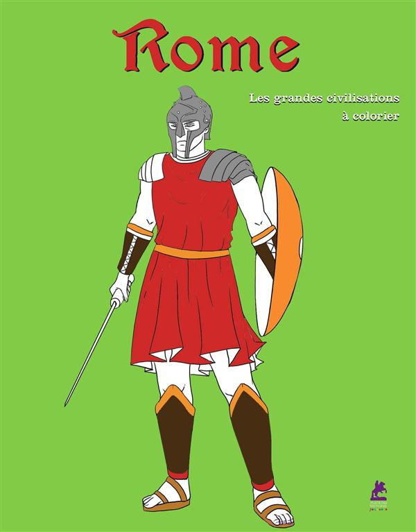 ROME, 30 COLORIAGES