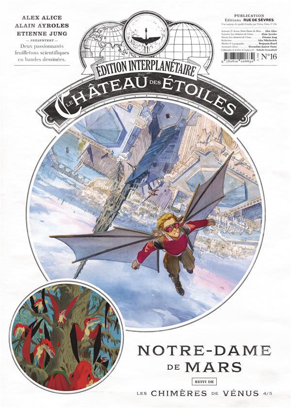 LE CHATEAU DES ETOILES - GAZETTE NUMERO 16 - NOTRE DAME DE MARS