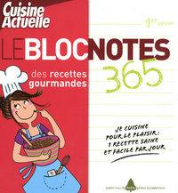 BLOC NOTES RECETTES GOURMANDES
