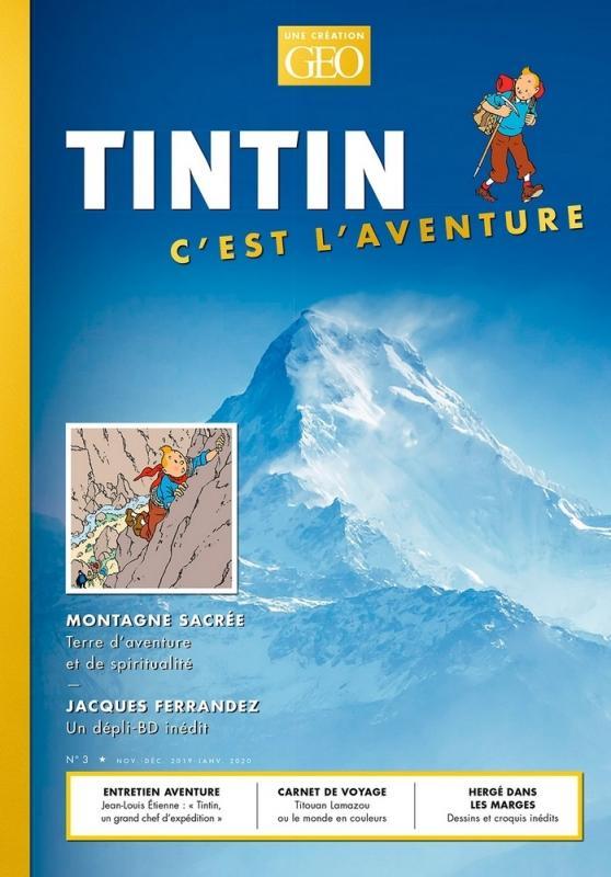 TINTIN C'EST L'AVENTURE 3, LA MONTAGNE
