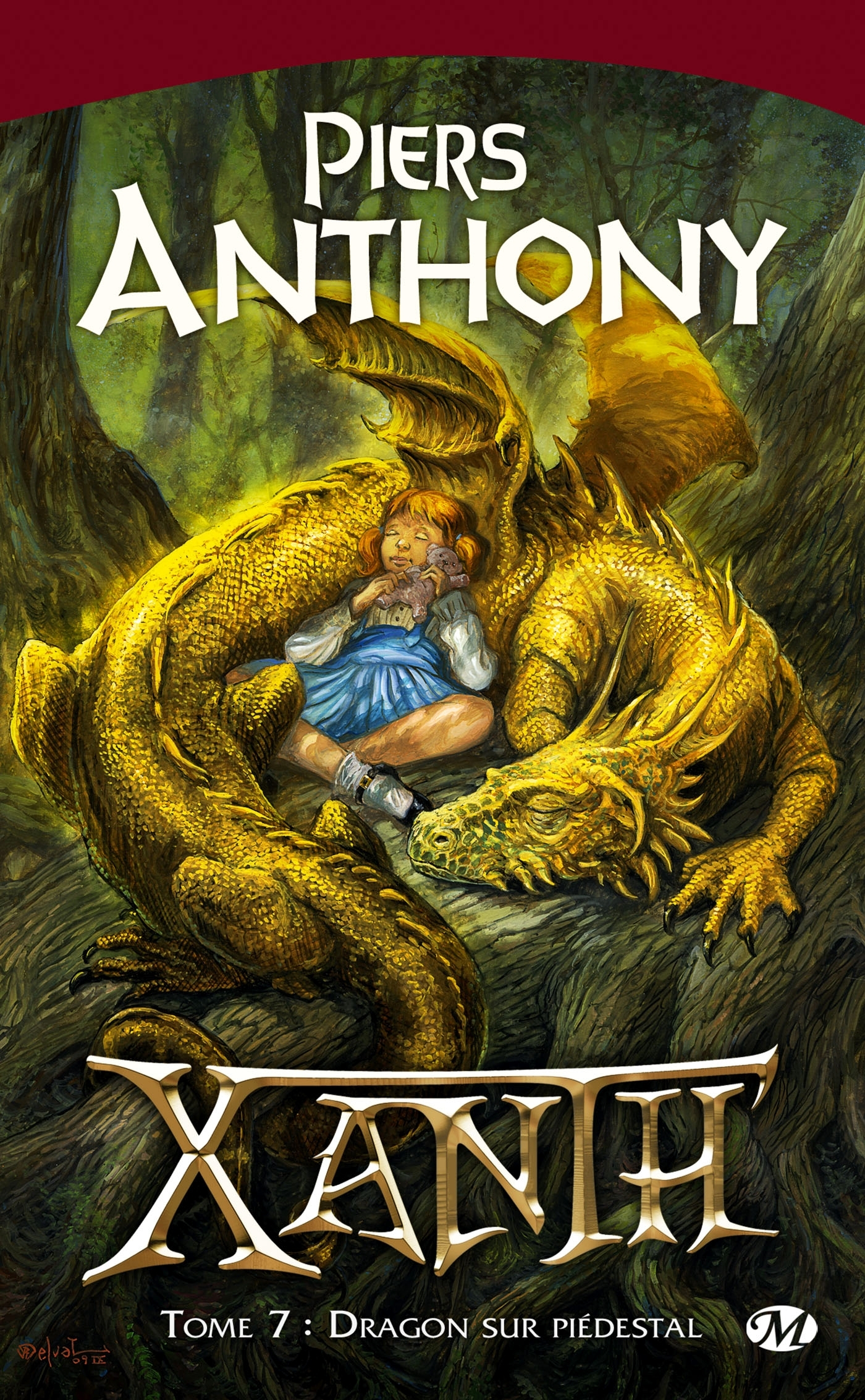 XANTH, T7 : DRAGON SUR PIEDESTAL