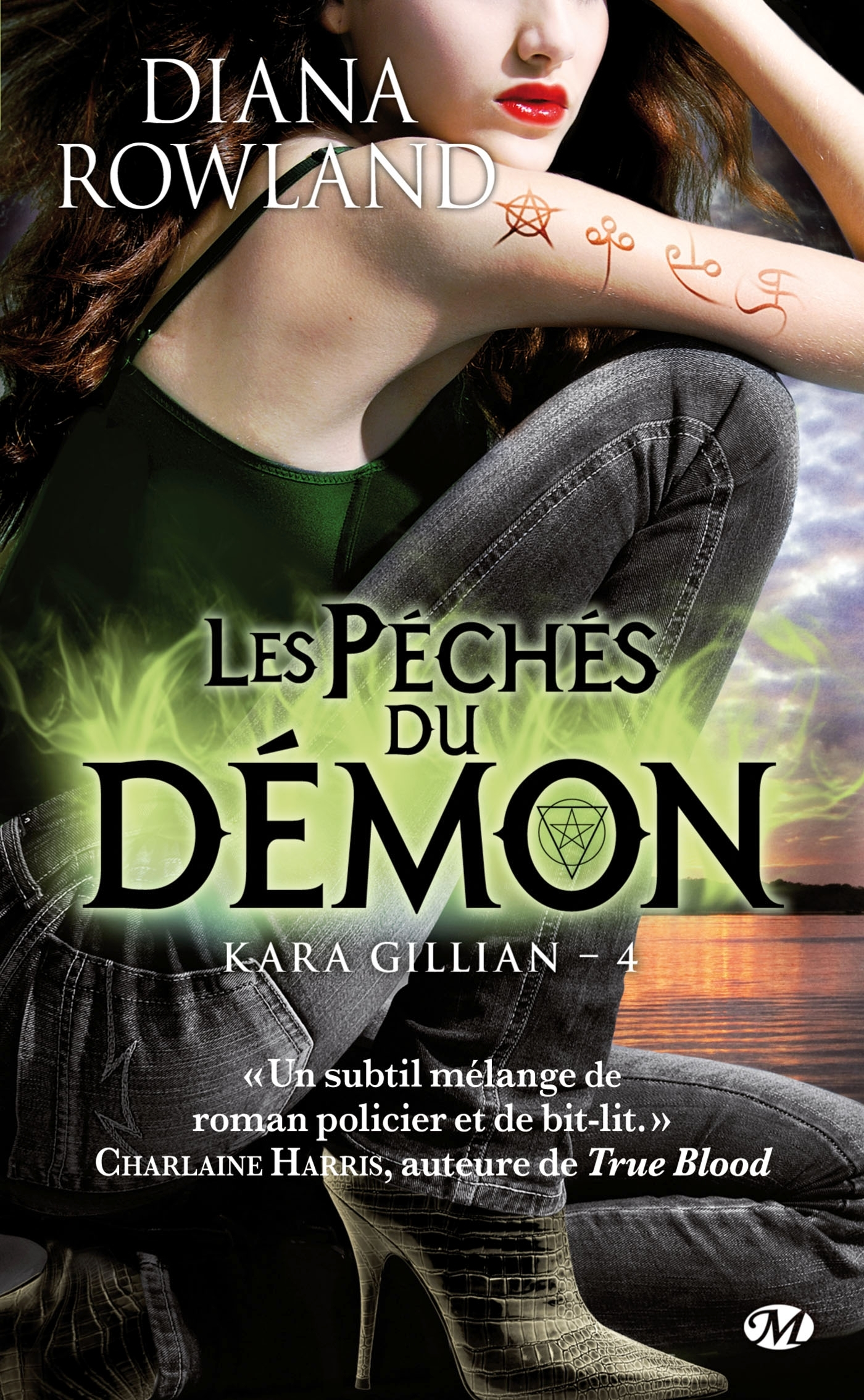 KARA GILLIAN, T4 : LES PECHES DU DEMON