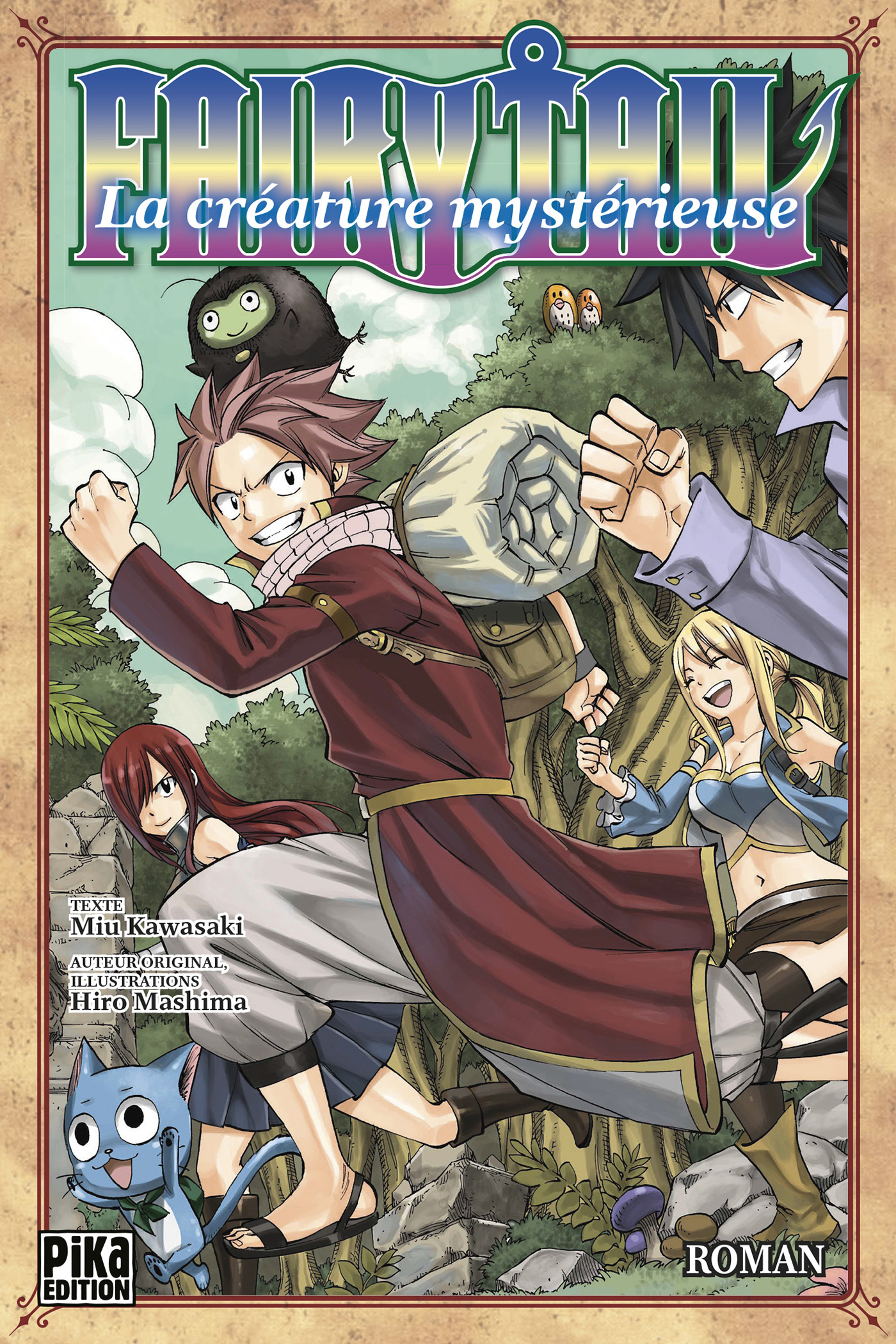 FAIRY TAIL - LA CREATURE MYSTERIEUSE