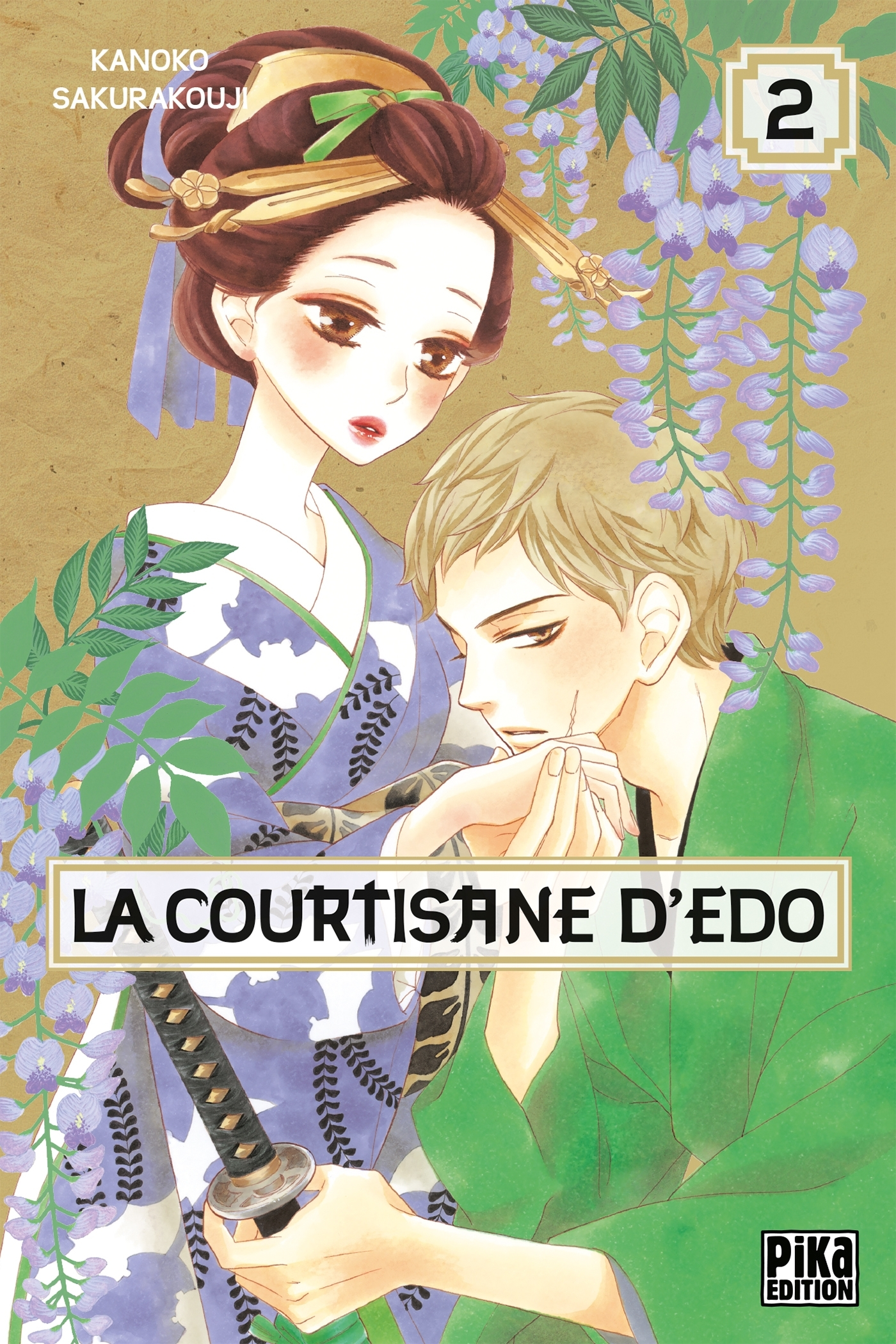 LA COURTISANE D'EDO T02