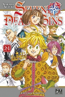 SEVEN DEADLY SINS T24 EDITION LIMITEE