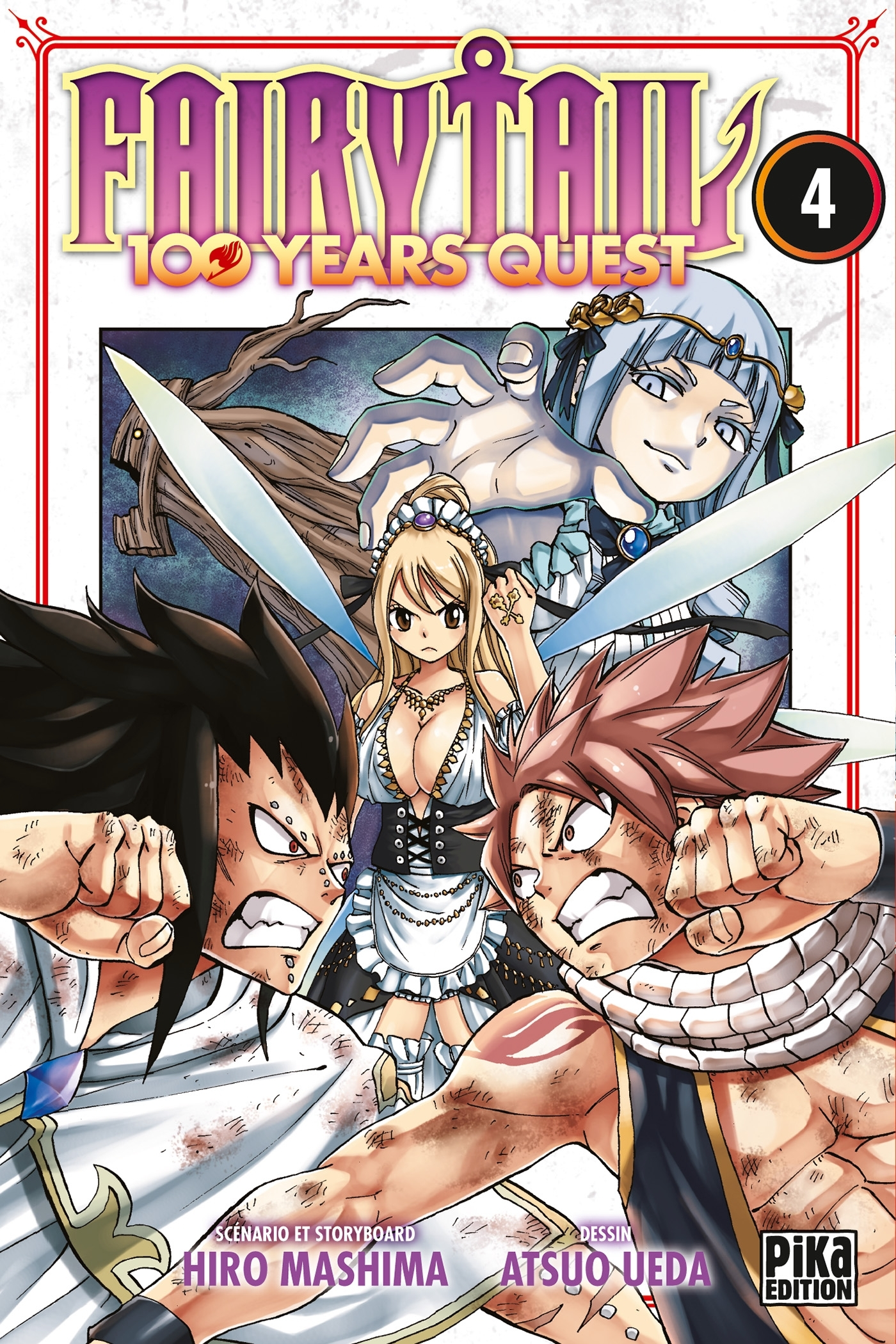 FAIRY TAIL - 100 YEARS QUEST T04