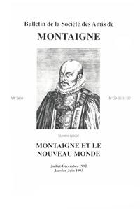BULLETIN DE LA SOCIETE DES AMIS DE MONTAIGNE. VII, 1993-1 N  29-32 - VARIA