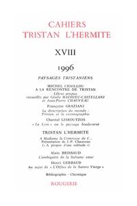 CAHIERS TRISTAN L'HERMITE 1996, N  18 - VARIA