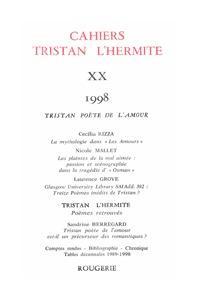 CAHIERS TRISTAN L'HERMITE 1998, N  20 - VARIA