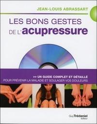BONS GESTES DE L'ACUPRESSURE (LES) + DVD