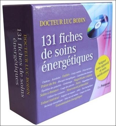 COFFRET 131 FICHES DE SOINS ENERGETIQUES AVEC CD AUDIO