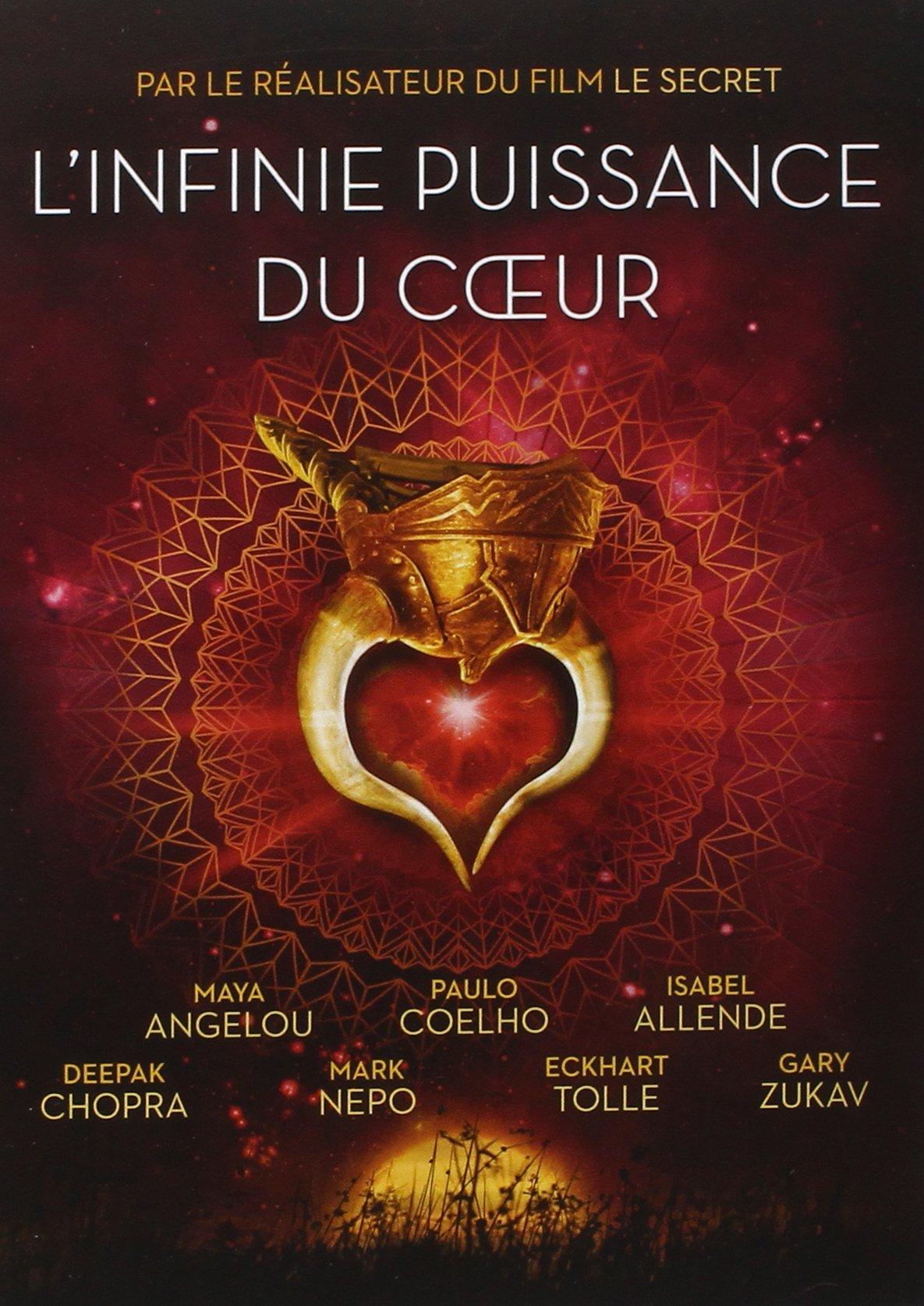 DVD L'INFINIE PUISSANCE DU COEUR (VENTE FERME)