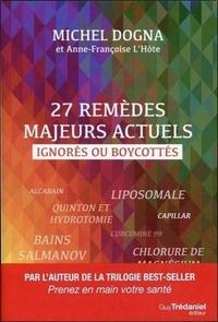 27 REMEDES MAJEURS ACTUELS IGNORES OU BOYCOTTES