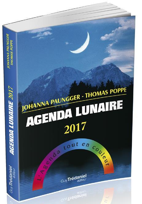 AGENDA LUNAIRE 2017
