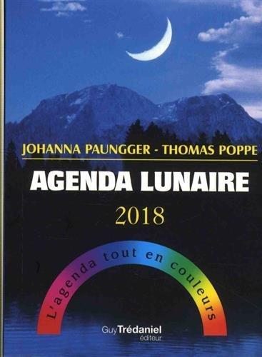 AGENDA LUNAIRE 2018