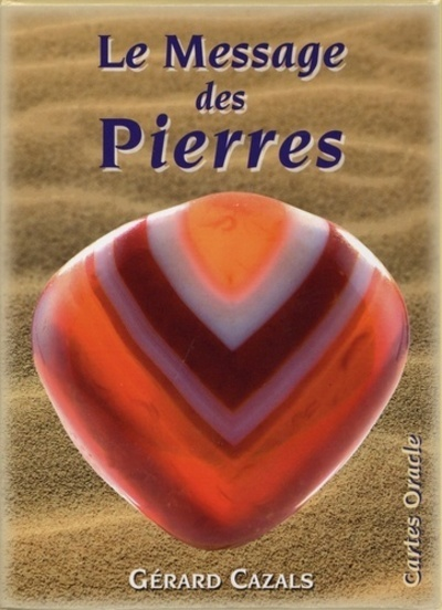 MESSAGE DES PIERRES CARTES COFFRET (LE)