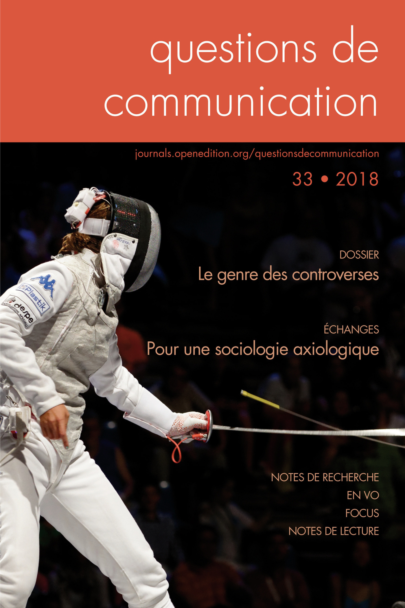 QUESTIONS DE COMMUNICATION, N 33/2018. LE GENRE DES CONTROVERSES