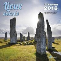 CALENDRIER LIEUX SACRES 2018