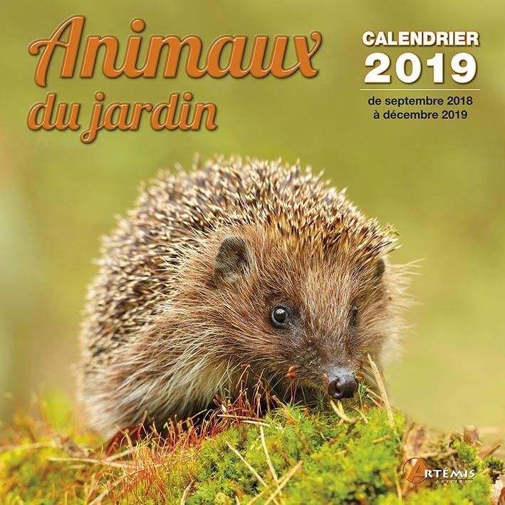 CALENDRIER ANIMAUX DU JARDIN 2019