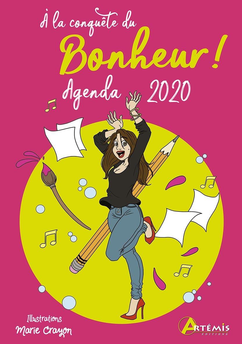 AGENDA DE SAC 2020 A LA CONQUETE DU BONHEUR