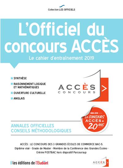 L'OFFICIEL DU CONCOURS ACCES 2019