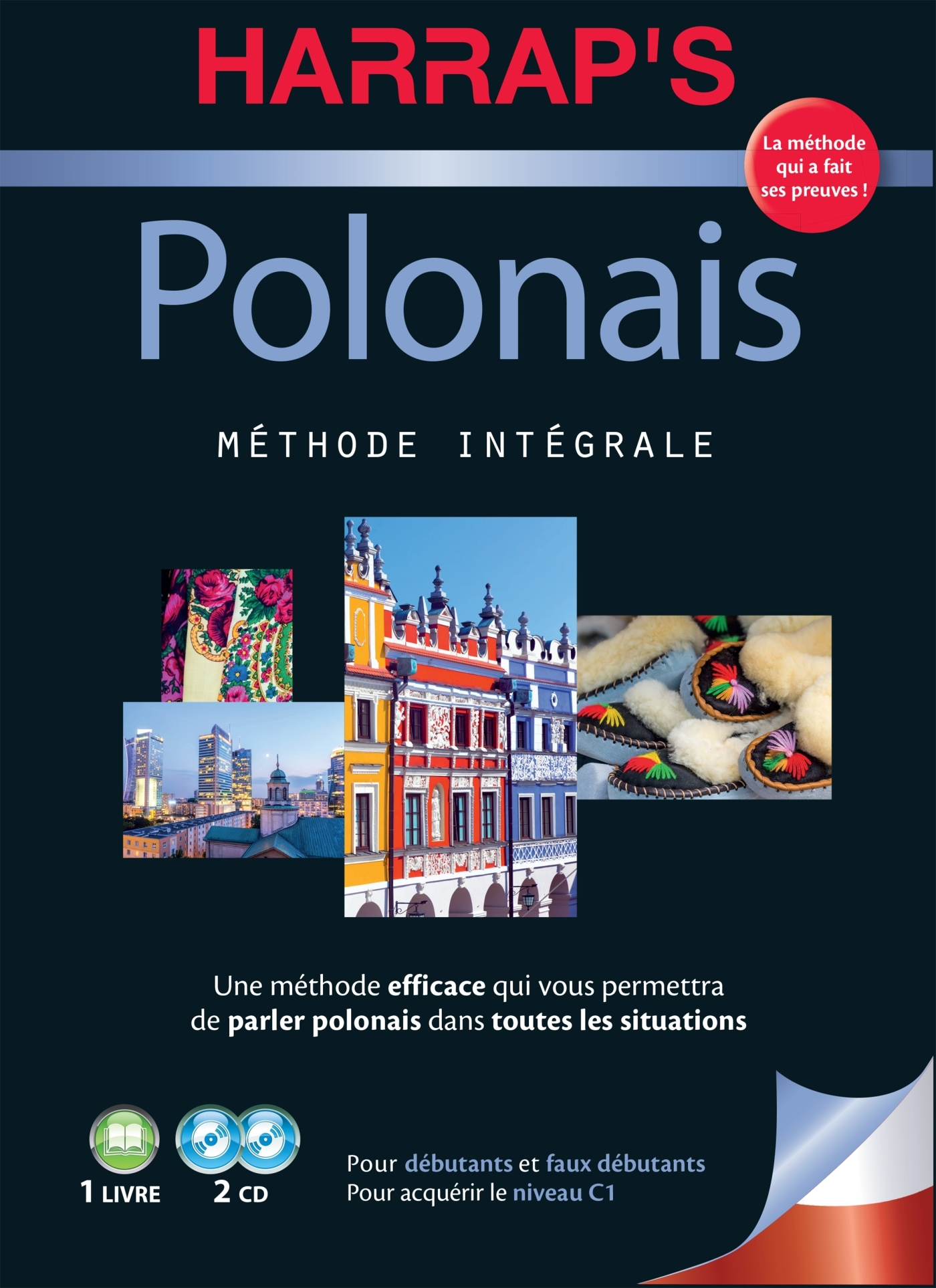 HARRAP'S METHODE INTEGRALE POLONAIS 2 CD+LIVRE