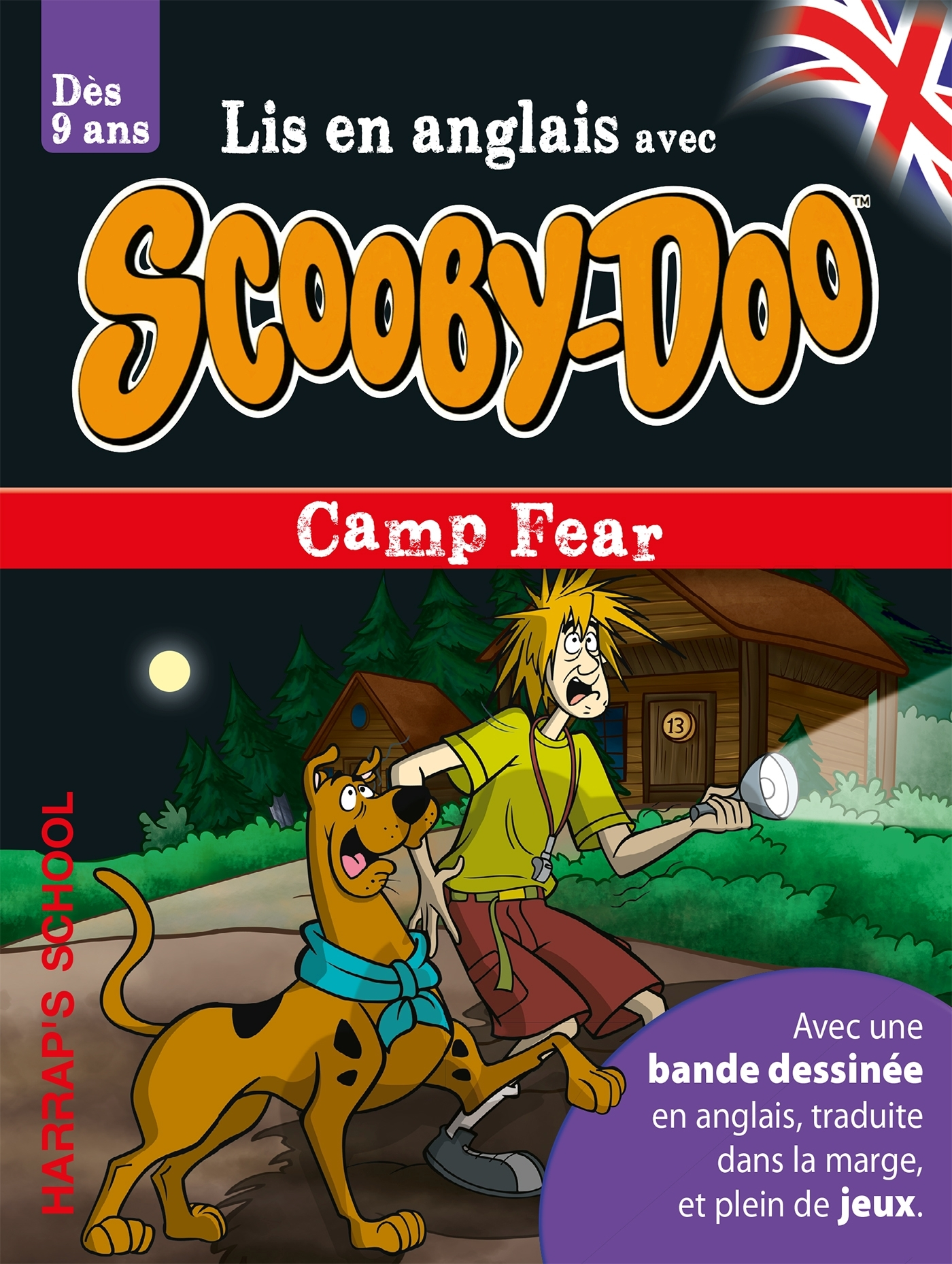 A STORY AND GAMES WITH SCOOBY-DOO CAMP FEAR