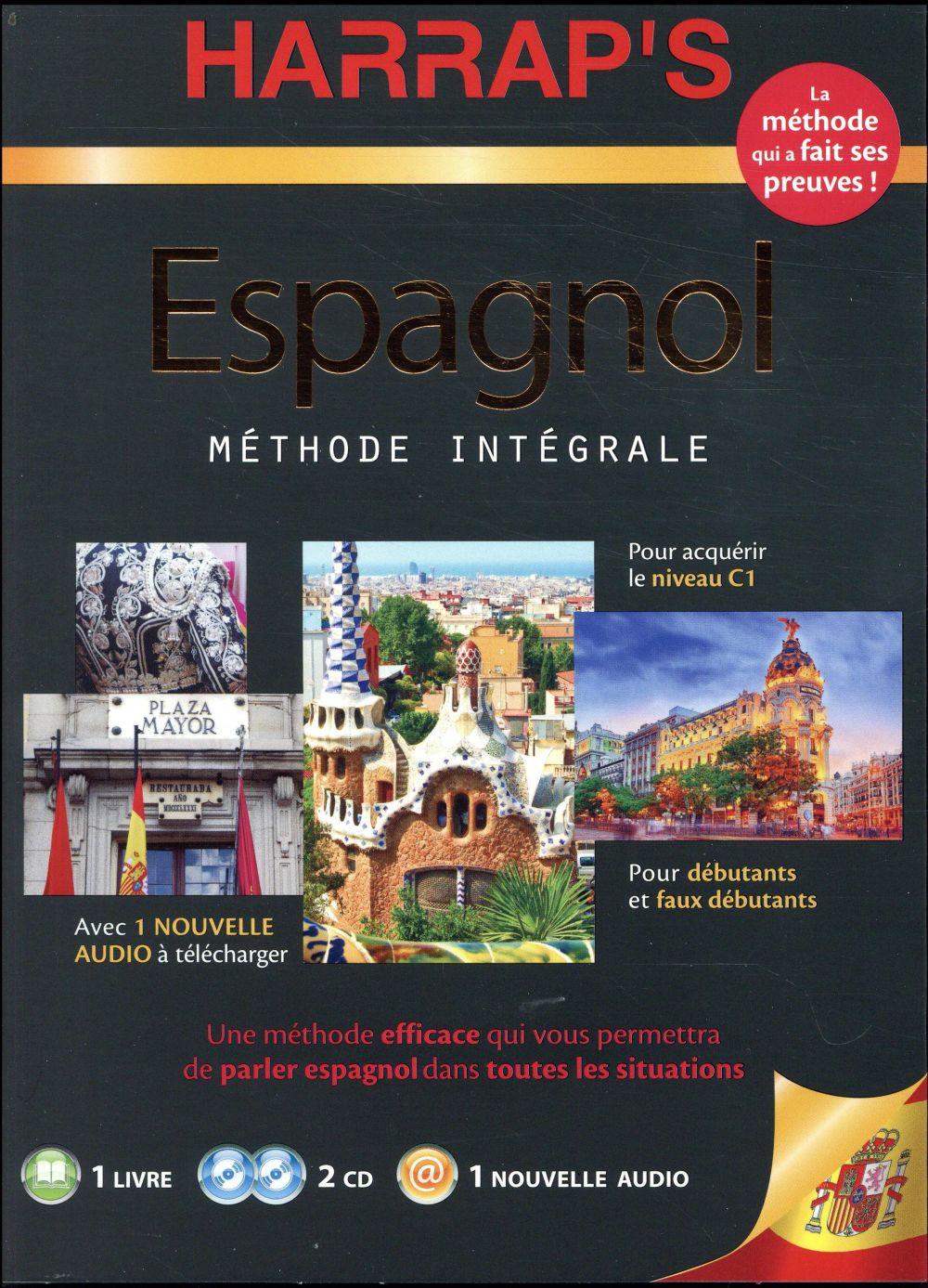 HARRAP'S METHODE INTEGRALE ESPAGNOL 2CD+LIVRE